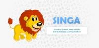 SINGA, açık kaynaklı bir makine öğrenme kitaplığı geliştirmek için bir Apache Incubating projesidir. Ölçeklenebilir dağıtılmış eğitim için esnek bir mimari sunar, donanım yelpazesi kapsamında genişletilebilir ve sağlık uygulamaları odaklıdır. SINGA'nın yazılım yığını, çekirdek, IO ve model olmak üzere üç ana bileşeni içeriyor.