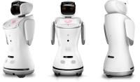 9)SANBOT: Sanbot, Qihan Teknoloji tarafından geliştirilen akıllı ve bulut tabanlı bir hizmet robotudur. Sanbot sadece insanlarla etkileşim kurma yeteneğine sahip olmakla kalmaz, aynı zamanda ön ekranını kullanarak seçimler sunabilir ve hatta dahili projektörünü yakındaki bir duvara görüntü yansıtmak için kullanabilir. Bu özellikleriyle kişisel kullanım için oldukça elverişli olan Sanbot şu anda sektördeki önde gelen sosyal robotlardan biridir.