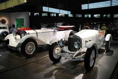 """Mercedes Benz, 1930'lu yıllarda uçak motoruyla ürettiği saatte 600 kilometre hıza çıkacak """"dünyanın en hızlı aracını"""" hiç deniyemedi.<br /><br/><br/> <br/><br/><p> </p>"""