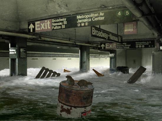 <h2>2 GÜN SONRA</h2>\nİnsanların dünyadan birden bire kaybolmasının ardından New York şehrinin altındaki tünelleri ve metroyu sular basacak.