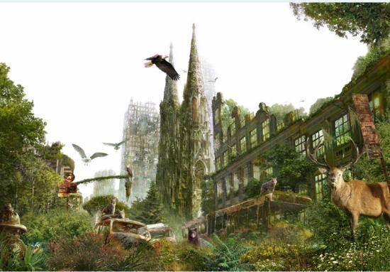 <h2>500 YIL SONRA</h2> \nYabanı bitkiler gökdelenlerin en tepesine kadar her yeri kaplayacak. Yabanı hayvanlar hayalet şehirlerin içerisinde barınmaya başlayacak. Belki de yeni canlı türleri ortaya çıkacak.\n
