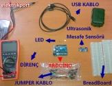 Arduino Mesafe Sensörü İle Proje Geliştirme